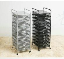 metal Mesh 10 drawer art cart storage