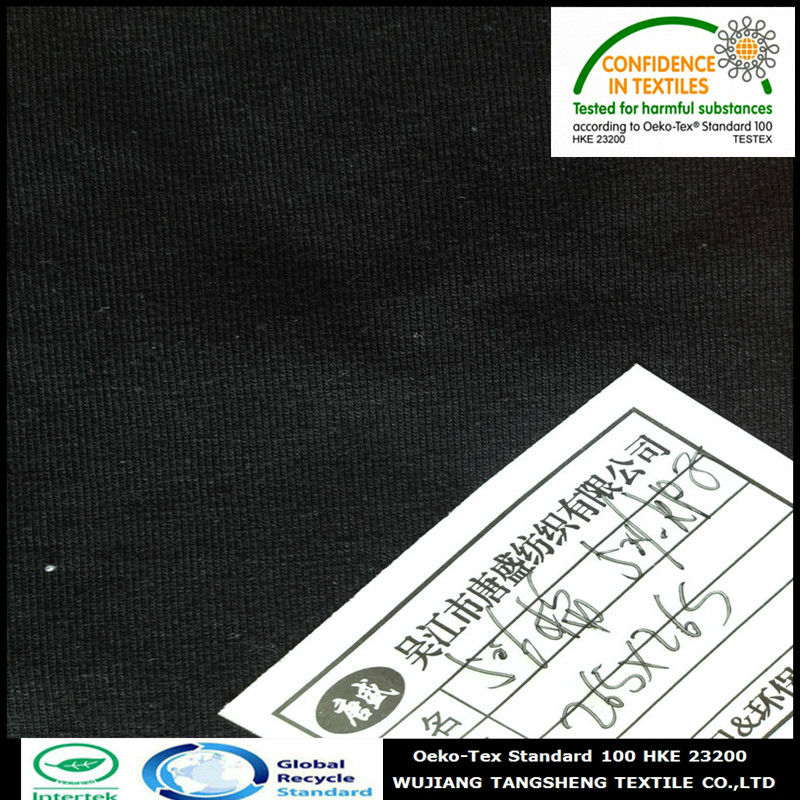 50% Recycled PET polyester 50% cotton blended Pique Mesh Fabric for sportswear