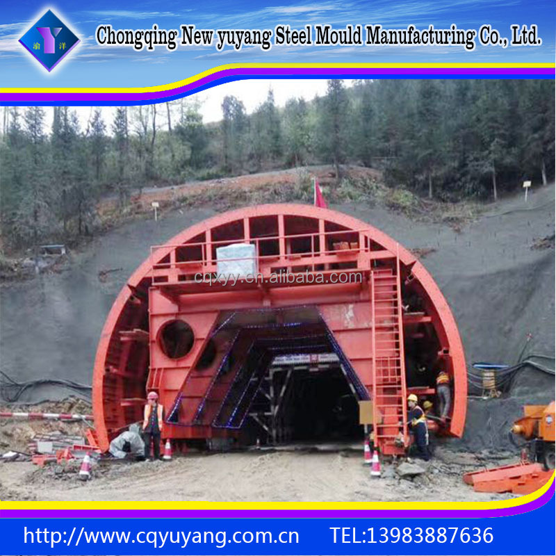Building tunnel steel formwork two lining trolley manufacturers