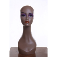 Cheap Beautiful Female Mannequin Head for Wig Hat Scarf Display