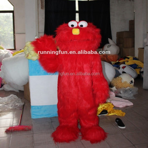 Lovely CE Sesame Street elmo mascot costumes for adults