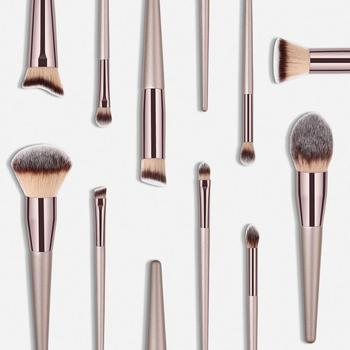 vegan private label professional luxury free samples natural hair makeup brushes