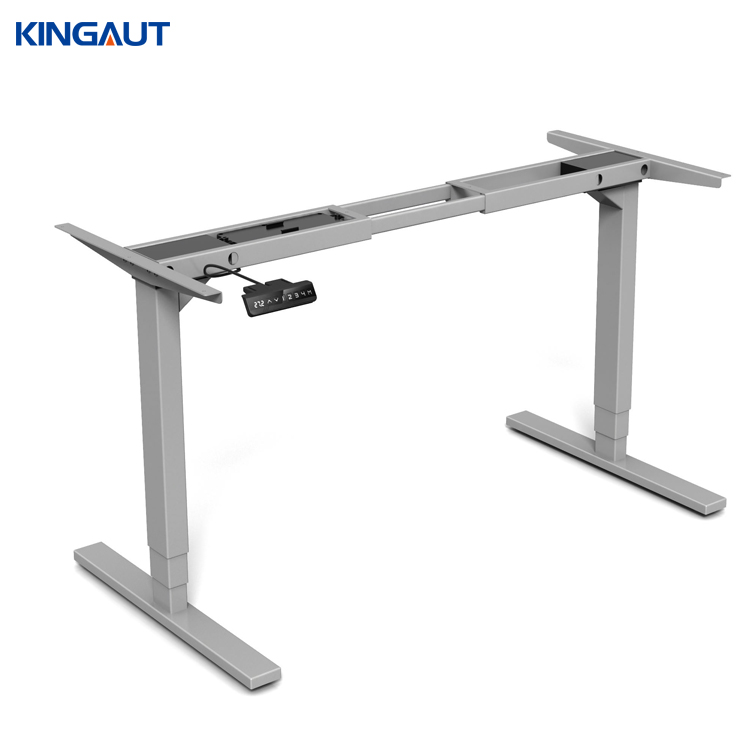 Dual Motor Two Legs Electric Ergonomic height adjust Sit to Stand Desk