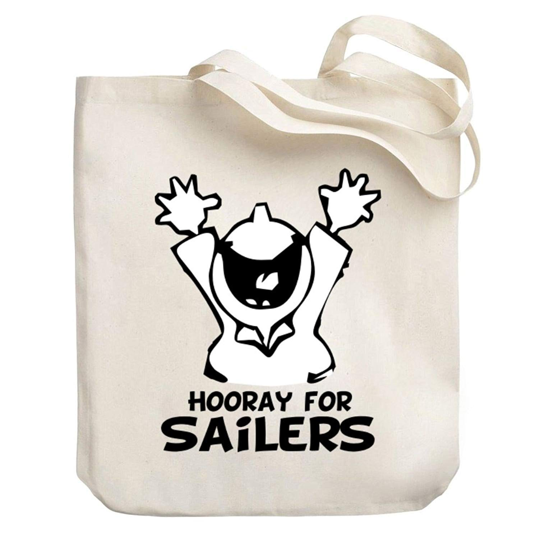Teeburon HOORAY Sailers Canvas Tote Bag