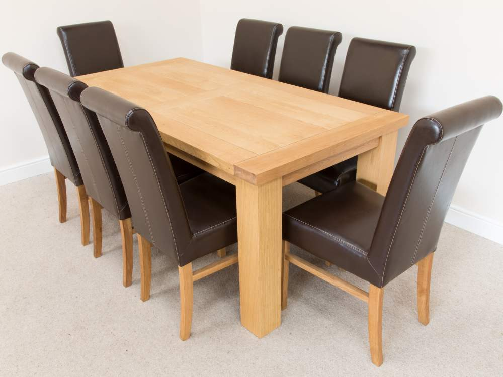 Billige Tische Und Stühle Leder Stühle Für Esstisch - Buy ...