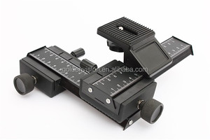 Hotsale 4 Way Focusing Rail Slider for Macro Bellow, Macro Lens For Camera