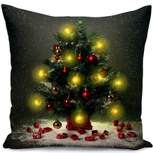 silk pillow case and stuffed pillowcase can design your own style as christmas gifts to others