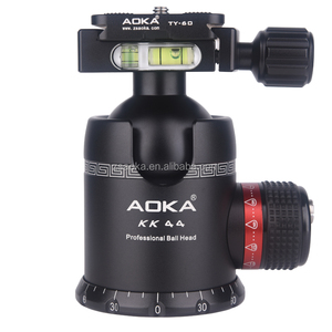 360 degree professional aluminum alloy camera tripod ball head