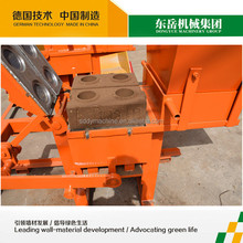 Small investment QTS1-40 Manual earth lego block machine from Dongyue factory with CE certificate