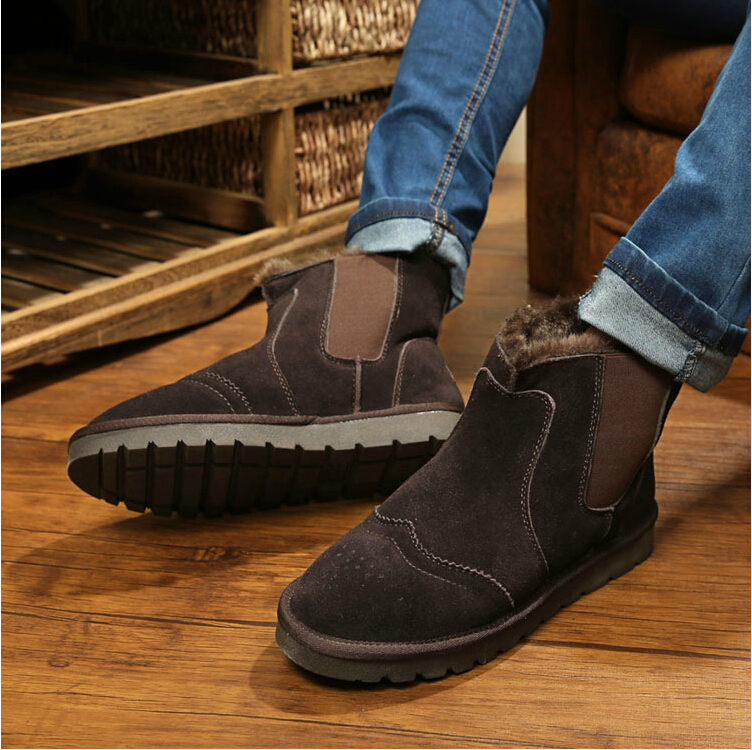 Pull On Winter Boots For Men Boot Ri