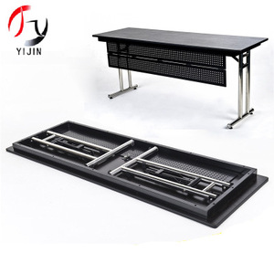 Modern detachable modular stainless steel conference table