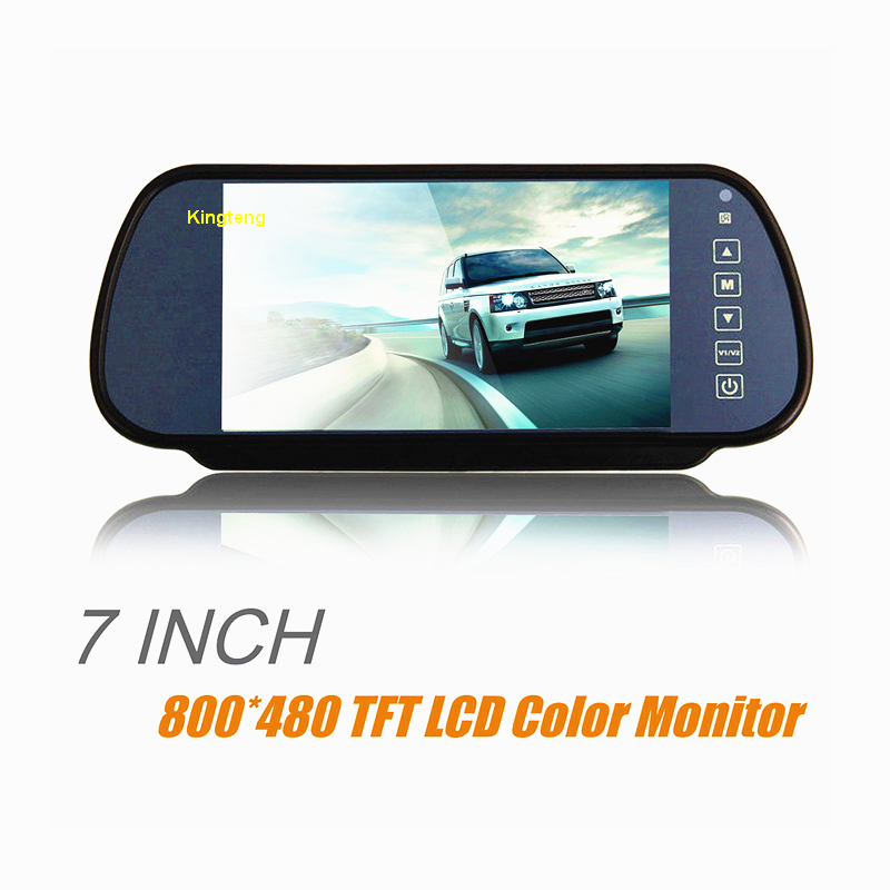 Farm Tractor Agriculture Combine Harvester Dump Truck 7 Inch TFT LCD Rear View Mirror Monitor (KT-602H)