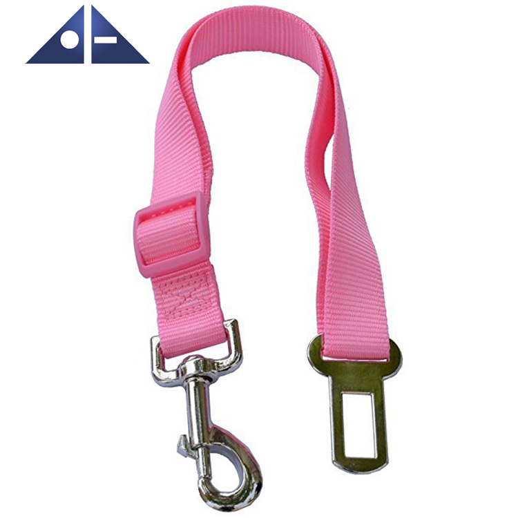 Swivel Dog Collar Safety Seat Belt Vehicle Seatbelts Harness Leash For Dogs
