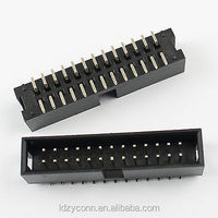 2*12 Pin 2.54mm Pitch Male Gender Box Header SMT Type