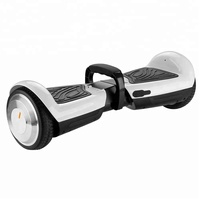 2018 New products 6.5 inch solid rubber wheel smart balance hoverboard scooter electric