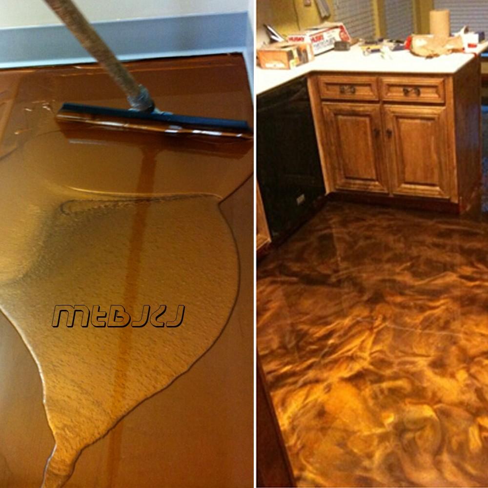 Metalic Epoxy Resin For Floor Coating Epoxy Primer Clear