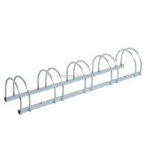 Wholesale Big Size Galvanized Bicycle Park Stand High Quality Jinhua Bike Display Stand For 5 Bike