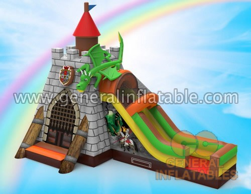 Used Commercial Inflatable Candy Bounce House Combo For Sale ...