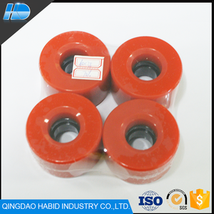 Top quality Polyurethane longboat inline skate wheel Best Selling Custom Skateboard Wheels For Skating