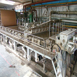 25 Yeas professional manufacturer carton recycled corrugated box duplex paper making machinery
