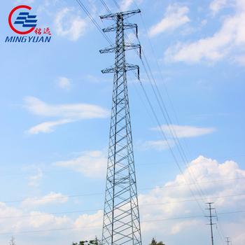 Electric Power 33kv Transmission Line Steel Lattice Tower Design - Buy  Transmission Line Steel Lattice Tower,Electric Power 33kv Transmission Line
