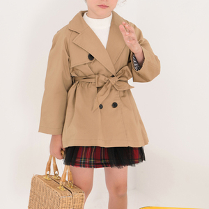 f91c9c9508cd Girls Trench Coat