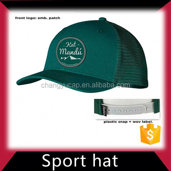 Sport embroidered hats and caps men