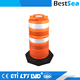 Plastic traffic barrel HDPE, adjustable drums road safety product