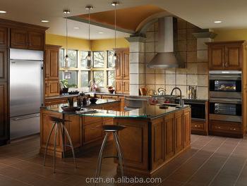 Modern Custom Rotta Furniture Modular PVC Vacuum Wooden Kitchen Cabinet