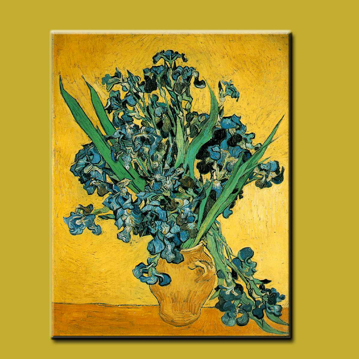 Van Gogh reproduction handmade abstract flower oil painting