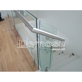 Merveilleux Removable Stair Handrail Fitting/glass Railing Detail