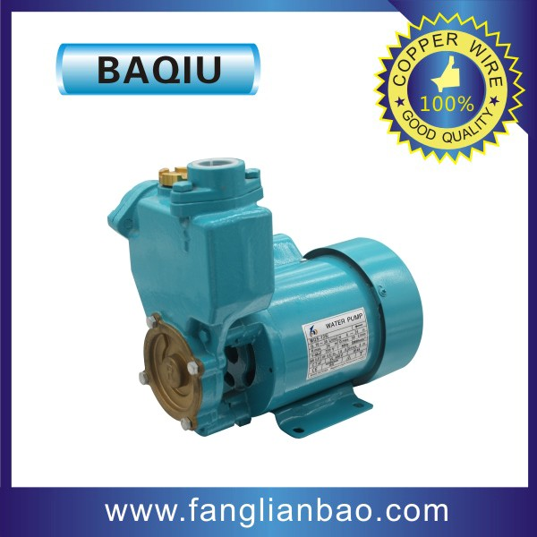 home use 1hp automatic self priming centrifugal water pump