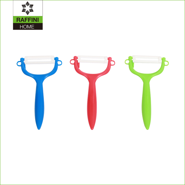 manufacturer plastic handle ceramic peeler