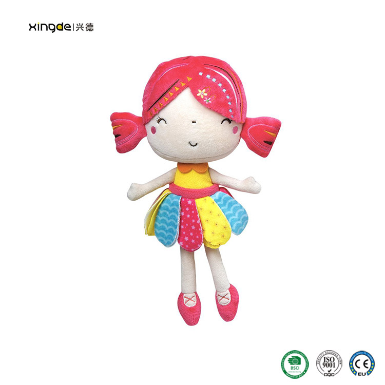 hot sale plush stuffed angel jolly baby doll