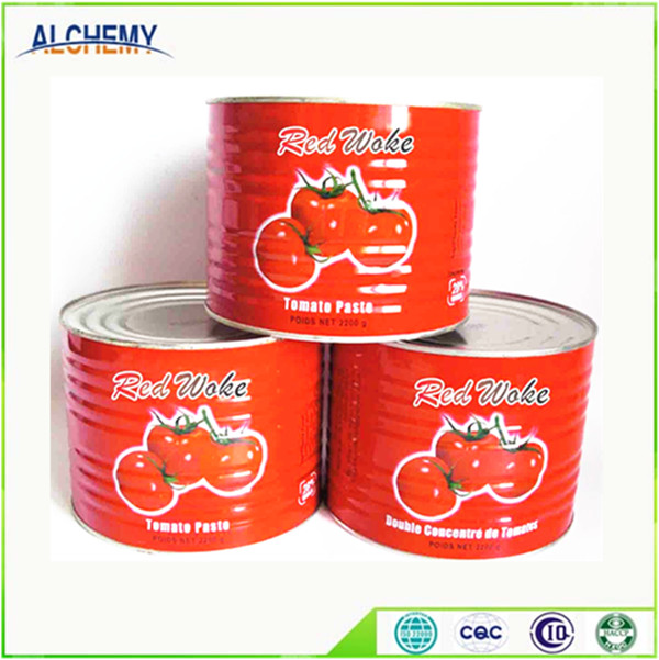 Wholesale canned 70g,210g,400g,800g,2200g tomato paste ,tomoto tomato sauce