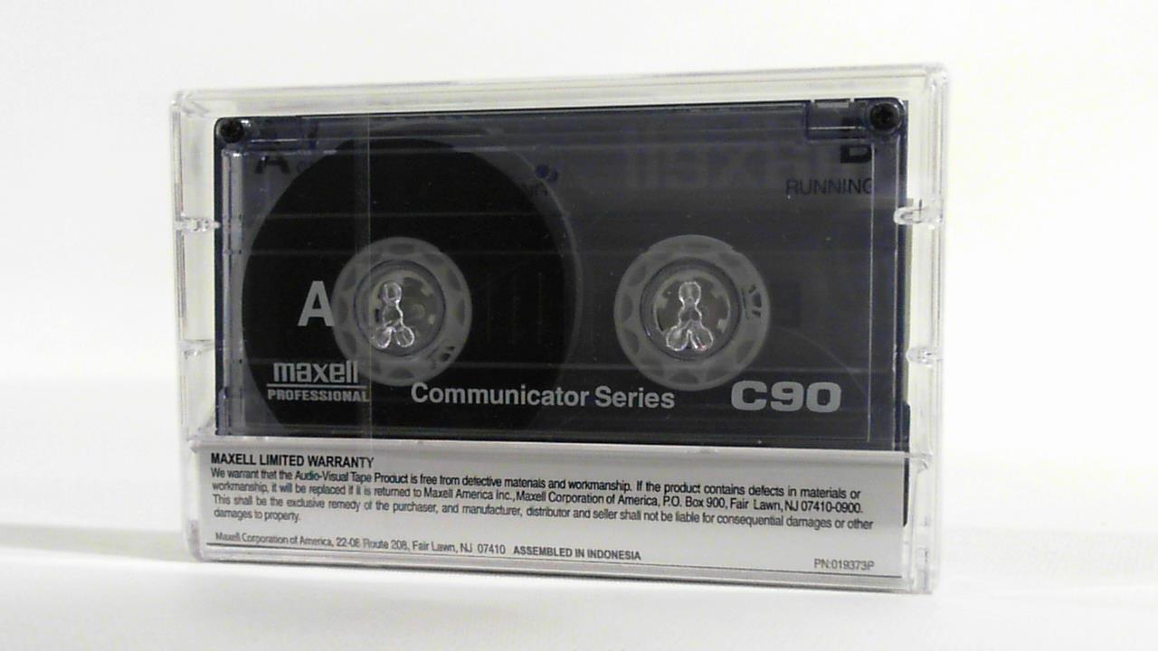 Maxell Communicator Series C60 Cassette Tape 5//Packs