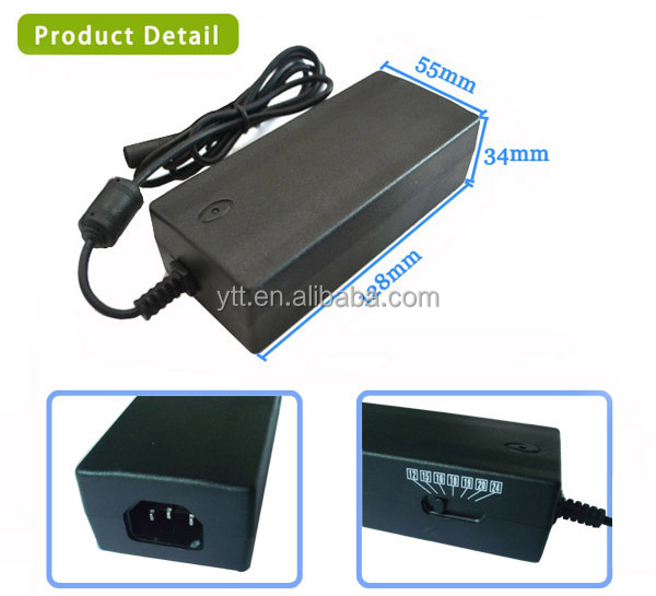 90w Manual Universal Laptop Ac Power Charger With 8 Tips For ...