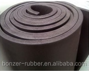 Nanjing Lishui factory produce neoprene /CR rubber sheeting roll manufacture