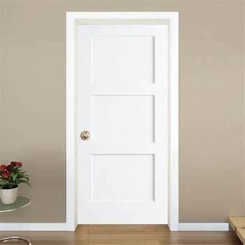 Custom Wood Interior Doors Kitchen Room