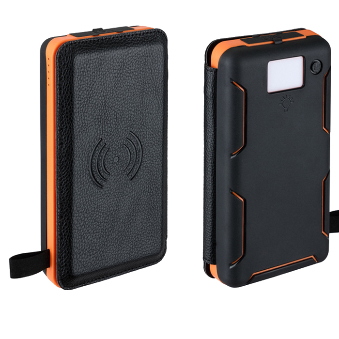 USA distributor wie tragbare power bank drahtlose 20000 mah outdoor solar power bank
