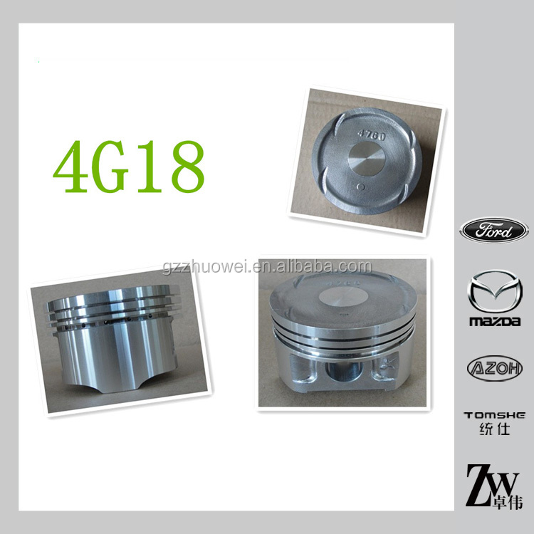 Factory sell high quality car piston for Mitsubishi 4G18/DA476Q