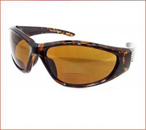 9581ac8427 Motorcycle Polarized Bifocal Sunglasses 1.50 for Men and Women with  Tortoise Shell Brown Frames and Brown