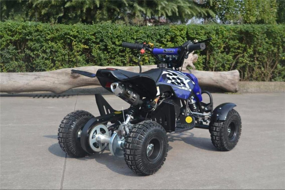 cool design 2 stroke 49cc quad bike atv bike differential kid atv quad bike