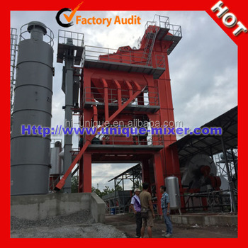 Road making Asphalt Mixing Plant 120ton /h