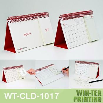 Desk Calendar 2014