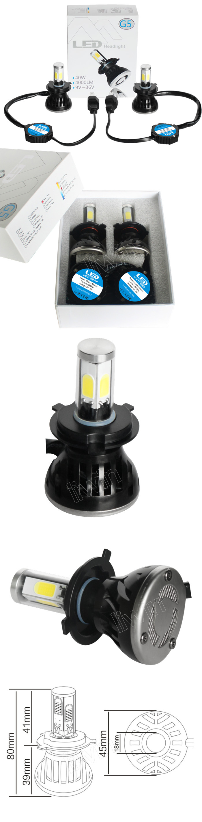 LW LH21-H4 9-36V 40W 4000lm 4side light fog lamp kit.jpg