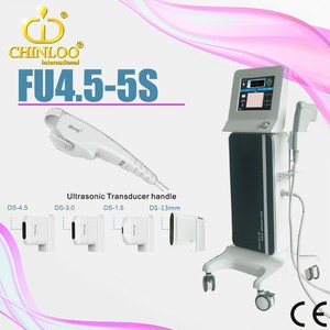 FU4.5-5S high intensity focused ultrasound hifu with one more slimming head for fat loss