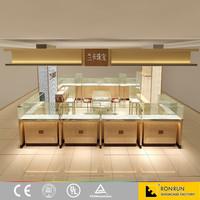 Jewelry shop interior design jewelry display showcase furniture for sale