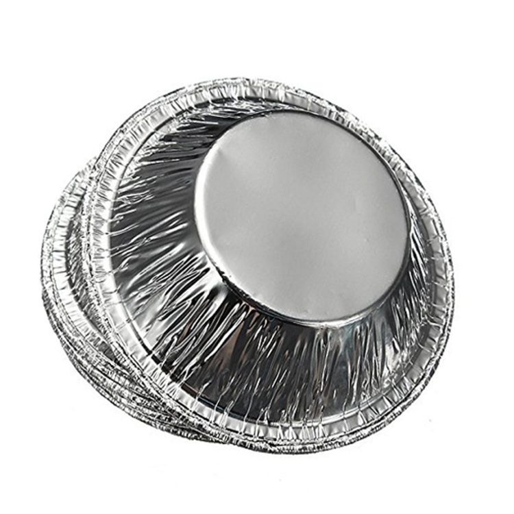 Disposable Aluminum Foil Cake Pans Container Egg Tart Tray