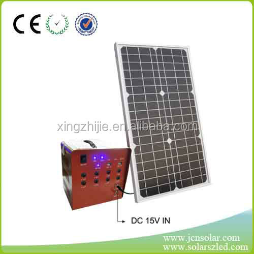 factory price newest 50W small home fiber optic solar light system, solar generator for home and outdoor with CE FCC ISO9001